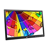 M-TK 17-Zoll-Touchscreen-Taste Digitales Foto-Frame-Album HDMI HD 1080P TV-Werbemaschine-mit 1440 * 900 HD-Auflösung,Black