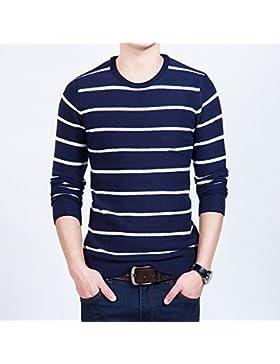 Uomini della versione coreana di caldo collo camicia a maglia-coat jacket manicotto allentato testa-testa a testa...