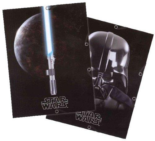 Star Wars Sammelmappe PP 3 Klappen 24x32mm