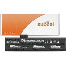 subtel® Batería premium (4400mAh) para Fujitsu Amilo A1640 / A1645 / A1667 / A3667 / A7640 / M1405 / M1415 / M1424 / M1425 bateria de repuesto, pila reemplazo, sustitución