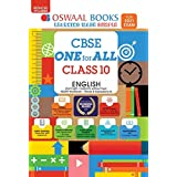 Oswaal CBSE One For All, English Lang. & Lit., Class 10 (Reduced Syllabus) (For 2021 Exam): Vol. 1