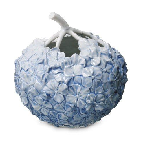 The Art of Giving Flowers Hydrangea Vase - Light Blue by Royal Copenhagen (Blue Royal Vase)