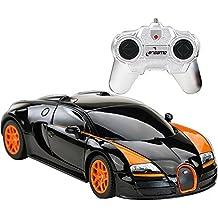 Brigamo 457 - Ferngesteuertes Auto, Bugatti Veyron Gran Sport Vitesse, RC Auto mit Fernsteuerung, Maßstab 1:24