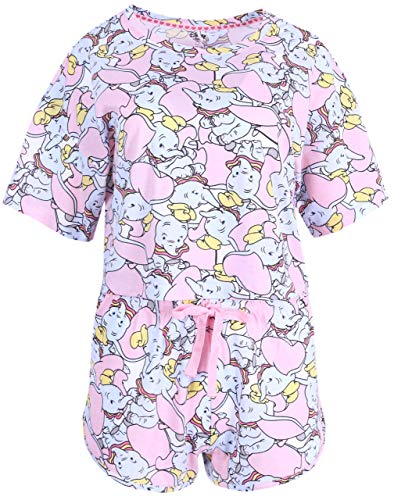 Pijama Rosa Dumbo Disney Medium