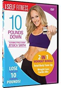 10 Pounds Down With Jessica Smith - 2 Workout Set [Import USA Zone 1]