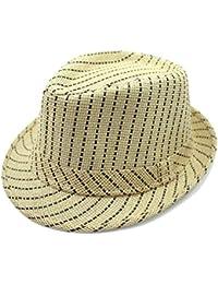 935438128f9 Junebao Ocasionales Grande Hats para Mujer Moda Retro Sombrero Clásico  Visera De ala Ancha Transpirable Invierno