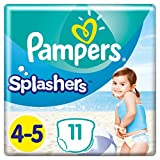 Pampers Splasher Swim Pants Carry Pack Size 4 x11