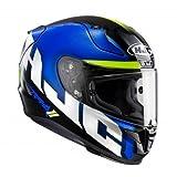 HJC Casque de Moto RPHA 11 SPICHO MC2, Bleu, Taille M