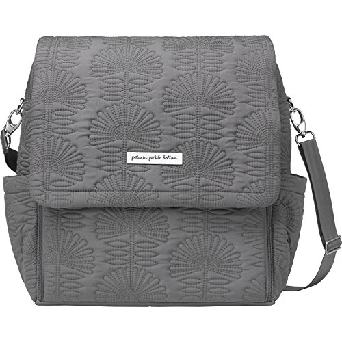 Petunia Pickle Bottom Embossed Boxy Backpack Champs-Elysees Stop