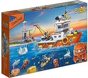 BanBao 7408 Treasure Hunter - Barco, Multicolor
