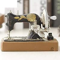CWJ Decoraciones-La Ventana de Resina artesanía Regalos Adornos Vintage máquina de Coser ...