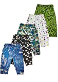 #5: T2F Kids Girls Jeggings Track Pants- Graphic Printed (Pack of 5)