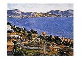1art1 7773 Paul Cézanne - Le Golf De Marseille (b) Poster