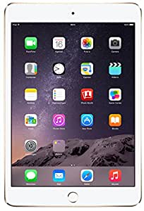 "Apple iPad mini 3 Tablette tactile 7,9"" (20,07 cm) (16 Go, 1 Prise jack, Wi-Fi, Or)"