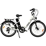 Freego Hawk Step Through Electric Bike White 16aH