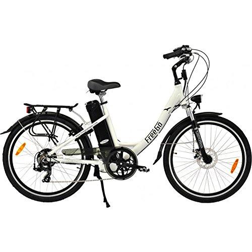 Freego Hawk Step Through Electric Bike White 16aH
