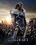 Warcraft - The Alliance - Two Worlds One Home Film Kino Fantasy Poster - Grösse 40x50 cm + 1 Packung tesa Powerstrips® - Inhalt 20 Stück