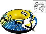 MESLE Tube Package Ringo 54'', 137 cm Donut Wasserreifen, inklusive Zugleine