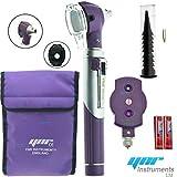 YNR England ® F.O Mini Otoscope Auriscope Fiber Optic ENT Medical Diagnostic Examination NHS GP CE Mark Approved NEW (Purple)