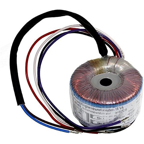 Sedlbauer Ringkerntrafo pri 230V sek 10V 7,5A 75VA Ringkerntransformator