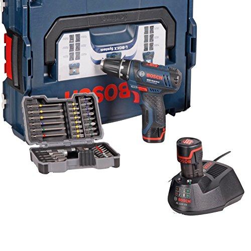 Bosch GSR 10,8-2-LI + Bitset | 43-teilig