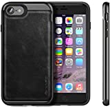iVAPO Coque iPhone 7 en Cuir Prime Etui iPhone 7 en Cuir Véritable Housse iPhone 7 Cuir Premium ...