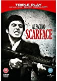 Scarface Triple Play (Blu-ray + DVD + Digital Copy with DVD Packaging)