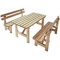 Suchergebnis Auf Amazon De Fur Sitzgarnitur Holz Garten