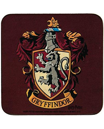 (Harry Potter Untersetzer Gryffindor als Tischdeko für Harry Potter Fans)