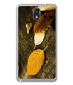 PrintVisa Designer Back Case Cover for Samsung Galaxy Note 3 :: Samsung Galaxy Note III :: Samsung Galaxy Note 3 N9002 :: Samsung Galaxy Note 3 N9000 N9005 (Nature Autumn Leaf Beauty Pink)