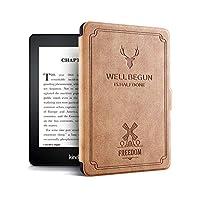 Cover for PaperWhite 4 Silicone Soft Retro E-book case For amazon Kindle PaperWhite 4 Funda case with auto Sleep Function