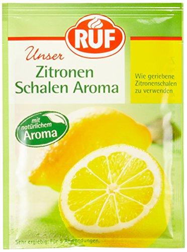 RUF Zitronen Schalen Aroma, 25er Pack (25 x 20 g)