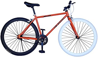 Helliot Bikes Fixie Soho H11 - Bicicleta urbana, color naranja, talla única