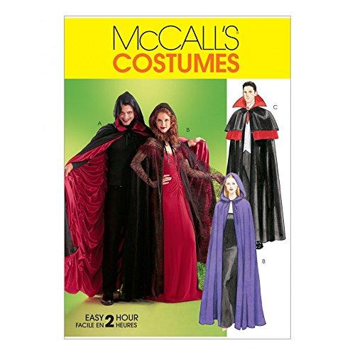 McCall 's Schnittmuster 4139Unisex Erwachsene Kostüme Größen: One Size