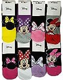 Chaussettes femme Minnie Disney fantaisie. Modèle photo assorti selon arrivage (36/41, Pack de 3 asst 3)