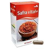Safra vita+ Safranfäden- Rhodiola-Rosea-Extrakt Kakao-Fasern Nahrungsergänzung