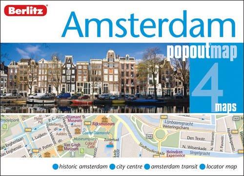 Amsterdam Berlitz PopOut Map (Berlitz PopOut Maps)