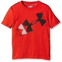 Under Armour Camiseta Técnica Rising Pixelated Logo T Rojo 7-8 años (127/137 cm (YSM))