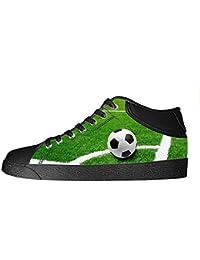 Custom Football sports Men's Canvas shoes Schuhe Lace-up High-top Sneakers Segeltuchschuhe Leinwand-Schuh-Turnschuhe