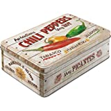 Nostalgic-Art 30707 Home & Country - Chili Peppers, Vorratsdose Flach