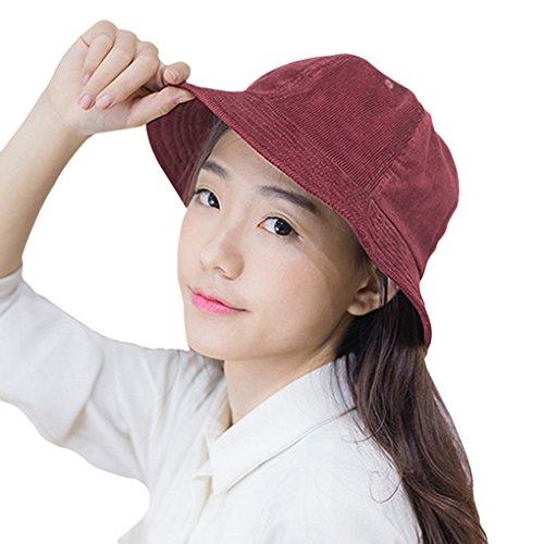 FakeFace Neu Fashion Fischerhut Sonnenhut Damenhut Sommerhut Fischermütze Frauen Anti-UV Hut Mütze