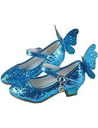 Amazon.fr   Bleu - Ballerines   Chaussures fille   Chaussures et Sacs 91d9349485e4