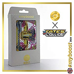 BRONZONG Break 62/124 - #myboost X Fates Collide XY 10 - Caja de 10 Cartas Pokémon inglesas