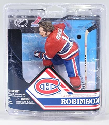 McFarlane NHL Series 32 Figure Larry Robinson Montreal Canadiens