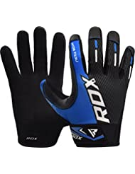 RDX Gym Weight Lifting Gloves Workout Fitness Bodybuilding Crossfit Powerlifting Competition Exercise Wrist Support Strength Training