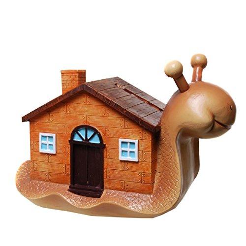 Preisvergleich Produktbild wunderschöne Spardose Schnecke mit Haus, Schneckenhaus