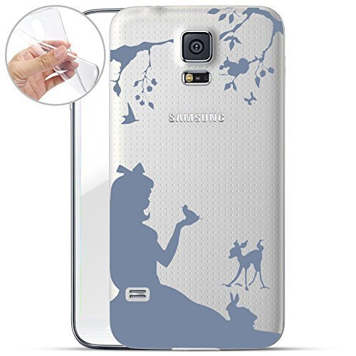Motivo Serie 1 Custodia Rigida Iphone - You are non speciale nero, Samsung Galaxy S5 bambina in foresta