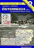 Wassersport-Wanderkarte / Österreich: Kanu-und Rudersportgewässer / mit Donau von Passau bis Bratislava