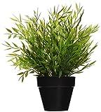 Ikea 2 X Künstliche Topfpflanze Bambus 27.94 cm Real Nature Houseplant Fejka Dekoration