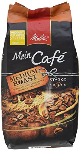 Melitta Mein Café Medium Roast, 1er Pack (1 x 1 kg)